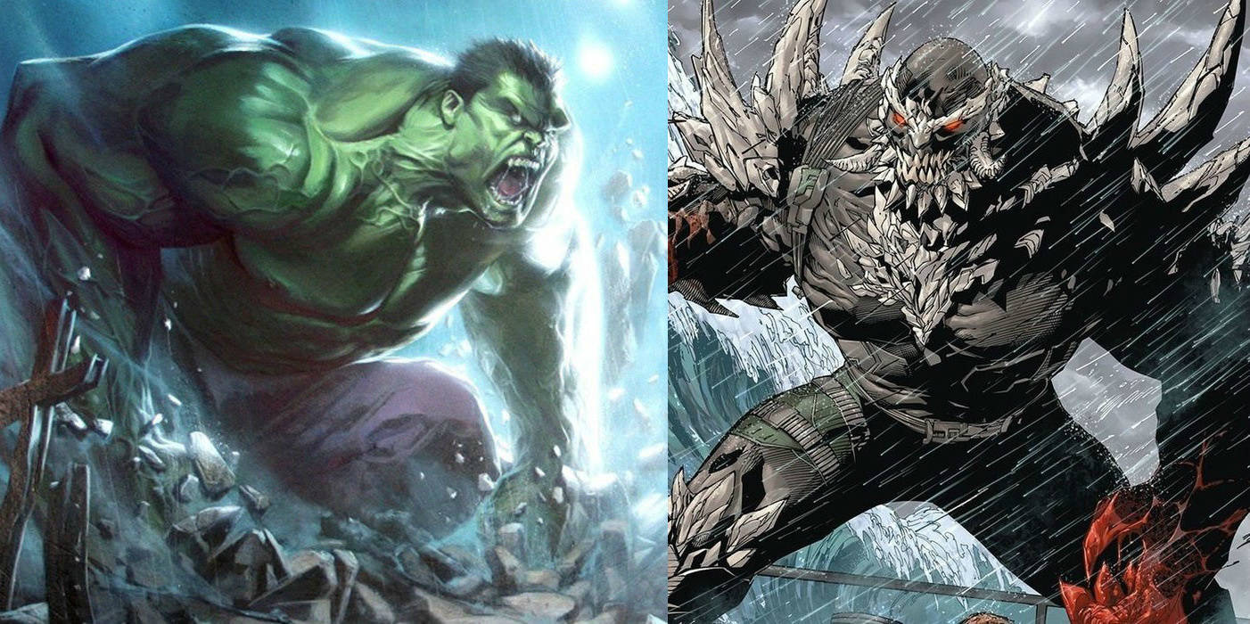 Hulk vs Doomsday - Bing images Red Hulk Vs Doomsday