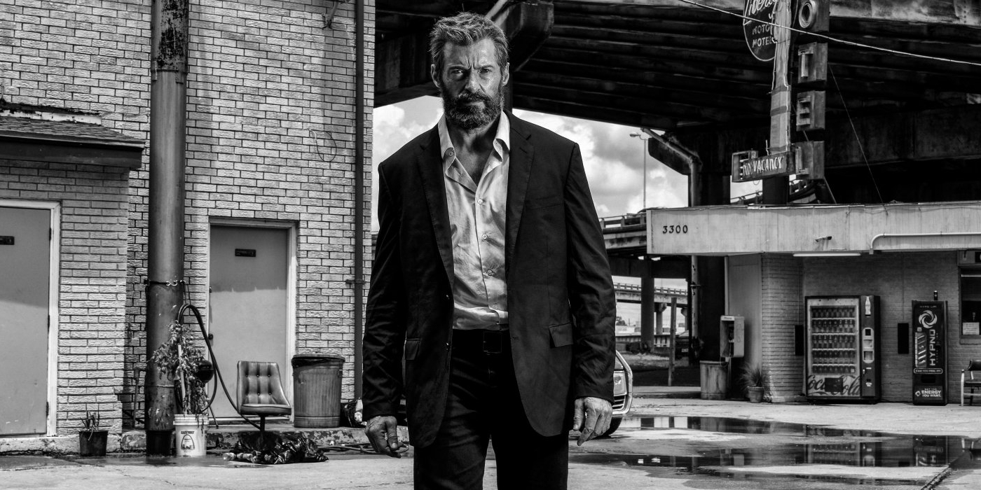 Logan (2017) - Wolverine (Hugh Jackman) at the Liberty Motel