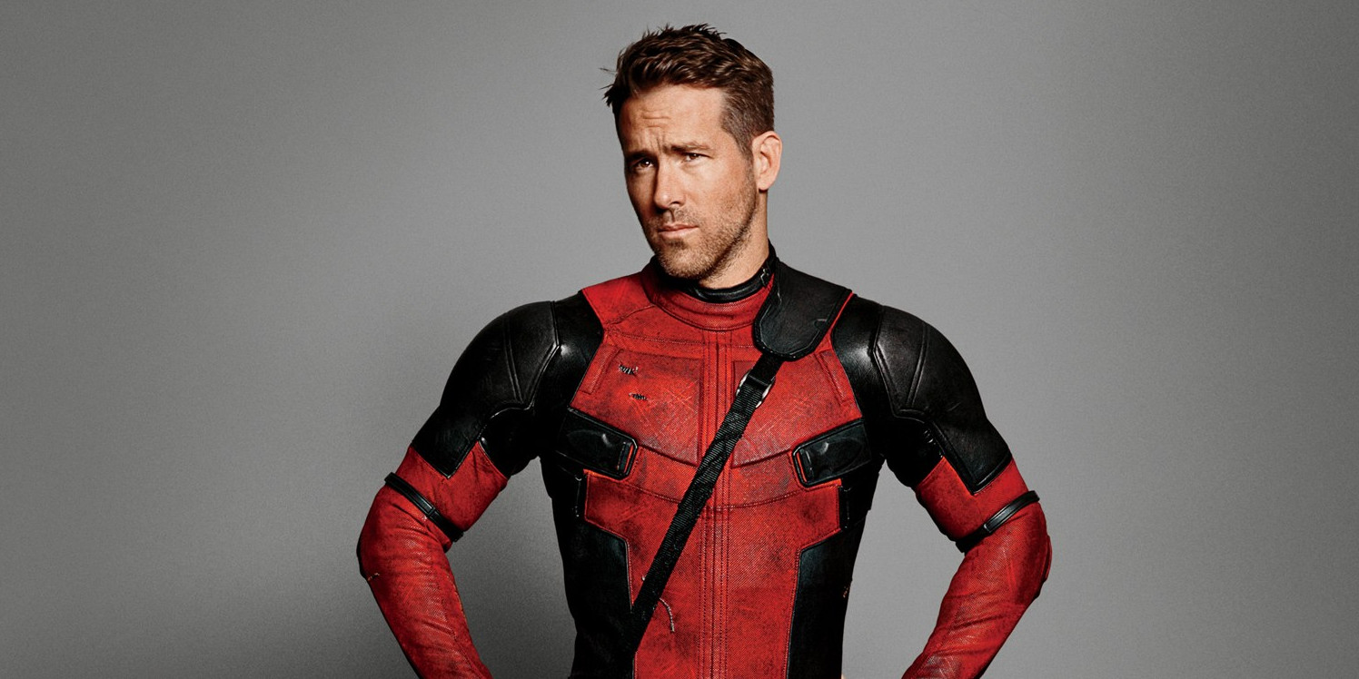 Ryan Reynolds as Deadpool for GQ