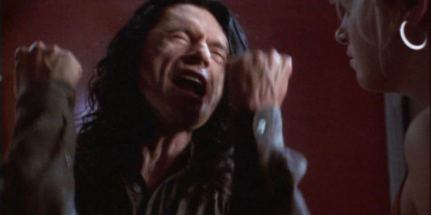 Tommy Wiseau in The Room
