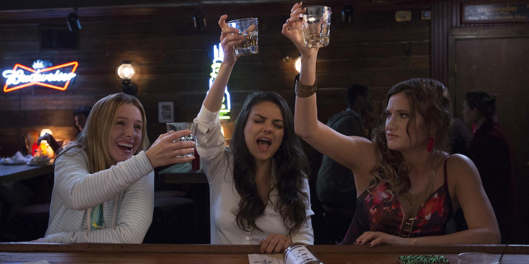 Bad Moms Sequel Kristen Bell Mila Kunis Kathryn Hahn