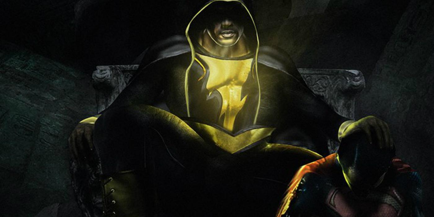 Black Adam and Superman fan art by BossLogic