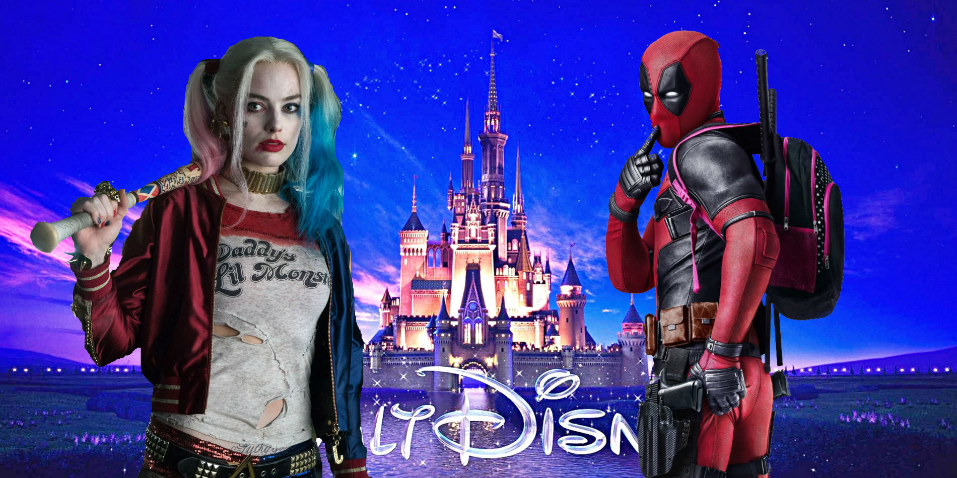 Box Office 2016 Deadpool Disney Harley Quinn