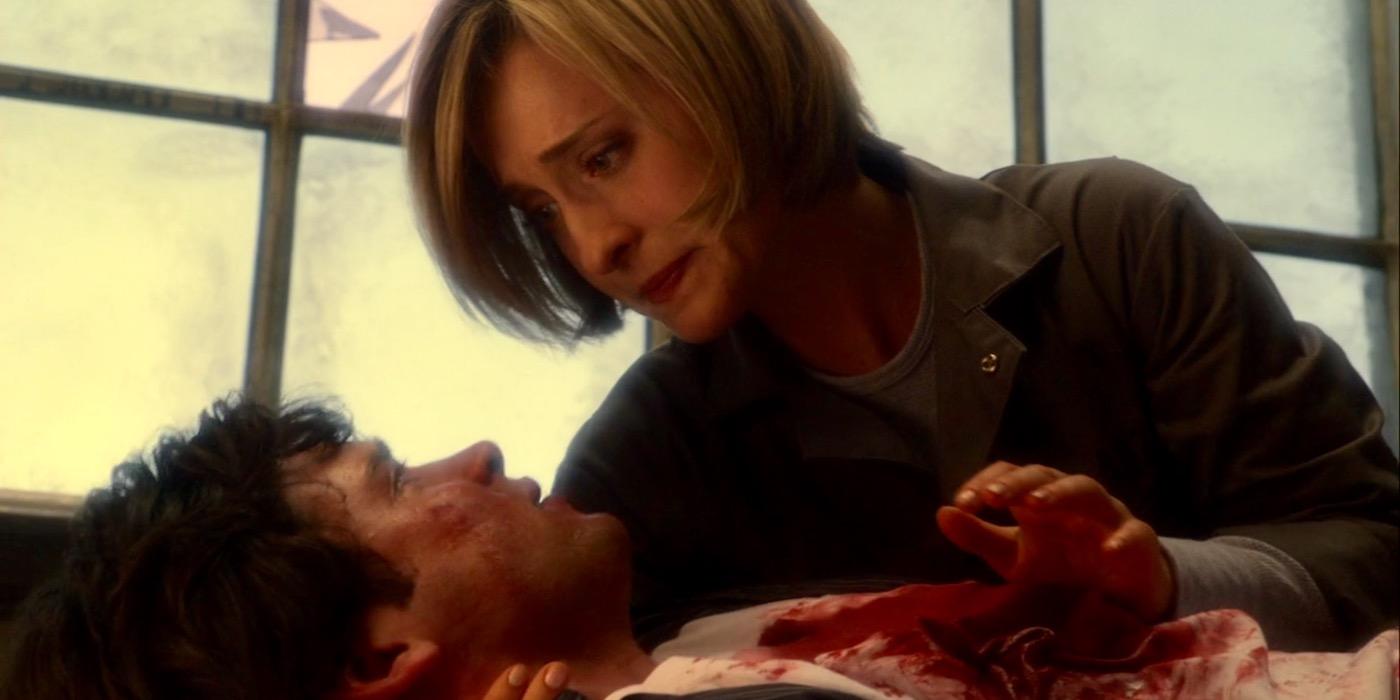 Clark Kent's almost-death on Smallville
