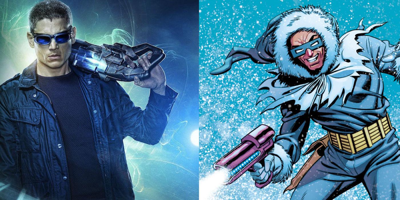 DC's Legends of Tomorrow vs Comics Captain Cold