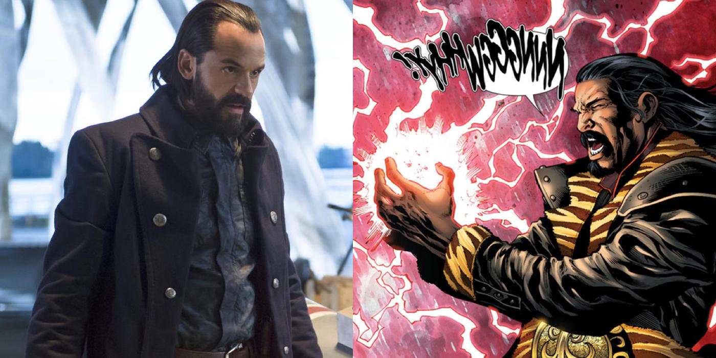 DC's Legends of Tomorrow vs Comics Vandal Savage