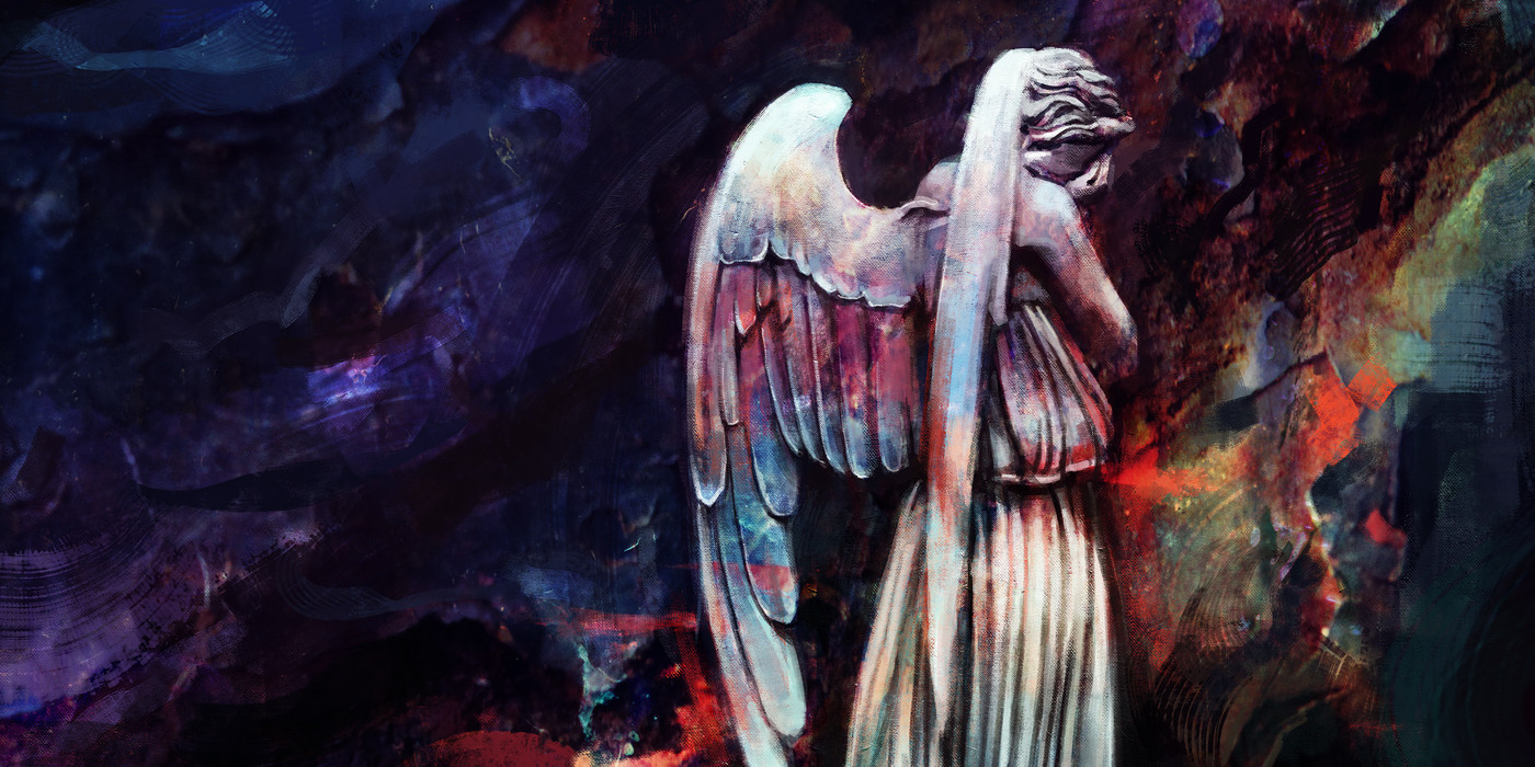 Weeping Angels from Doctor Who