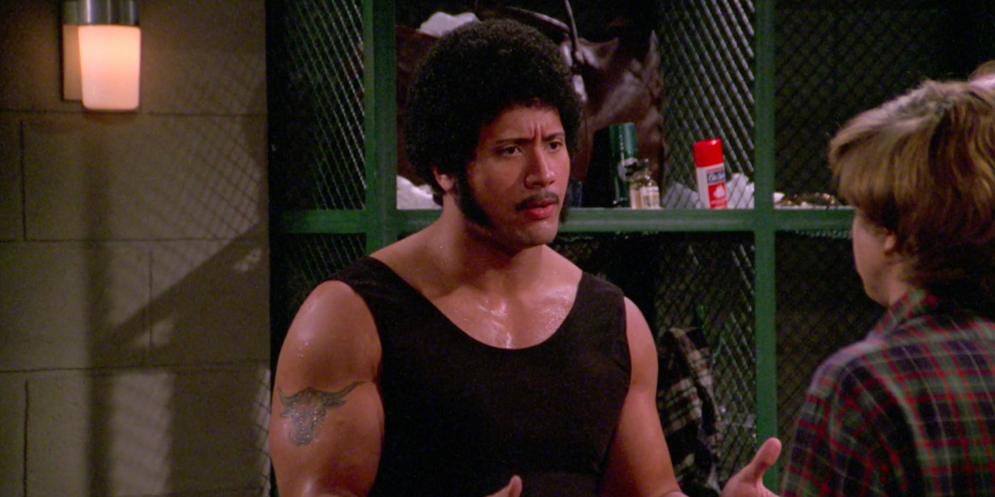 Dwayne the Rock Johnson on That '70s Show
