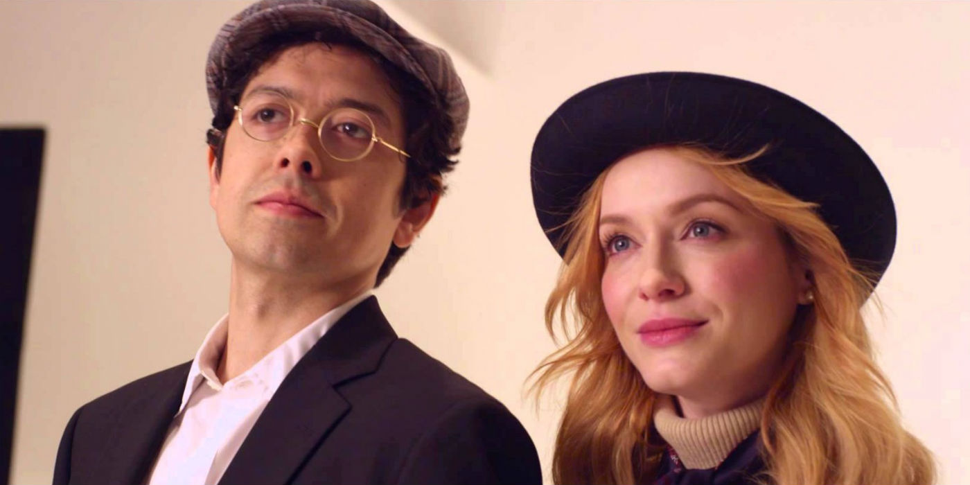 Geoffrey Arend and Christina Hendricks in Brooks Brothers Wedding Commercial