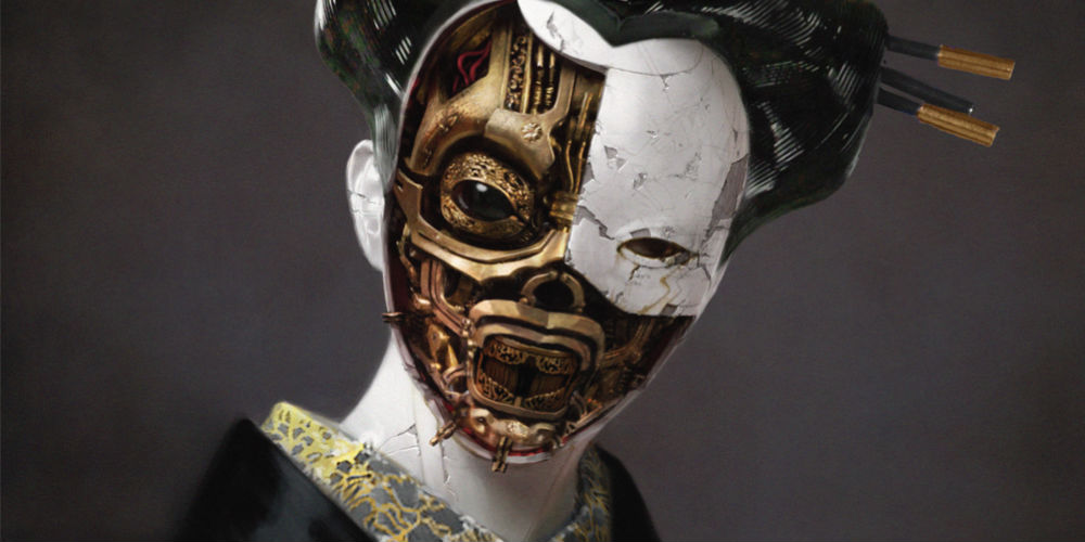Ghost in the Shell - Robot Geisha artwork