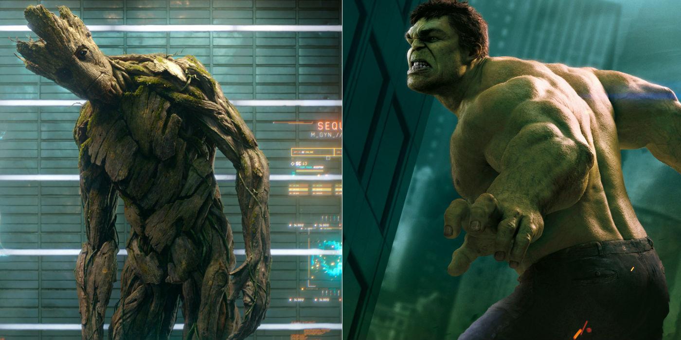 Groot vs. The Hulk Vin Diesel Teases Guardians of the Galaxy Spinoff; Wants Groot Vs. Hulk