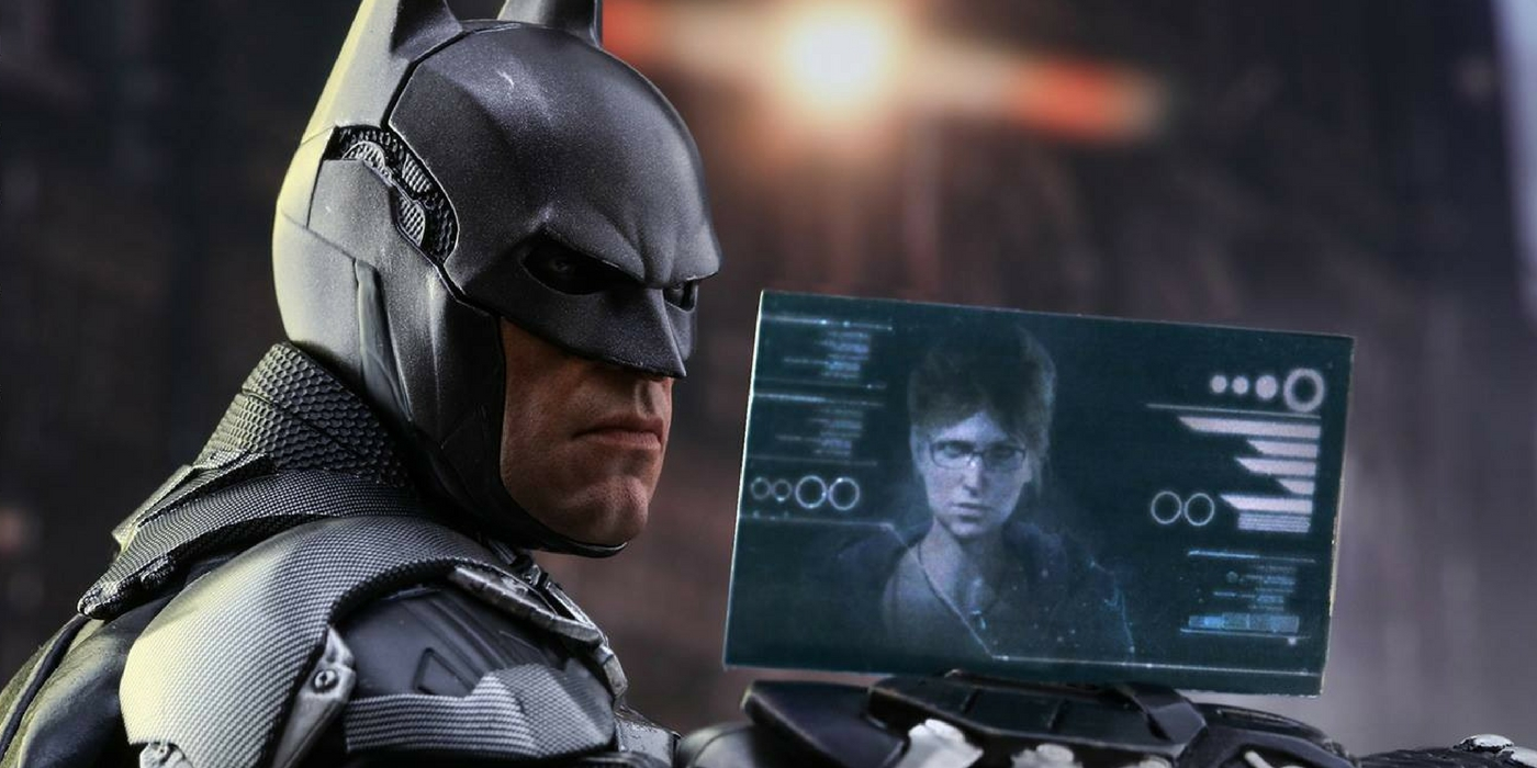 Hot Toys Arkham Knight Batman and Oracle Cropped