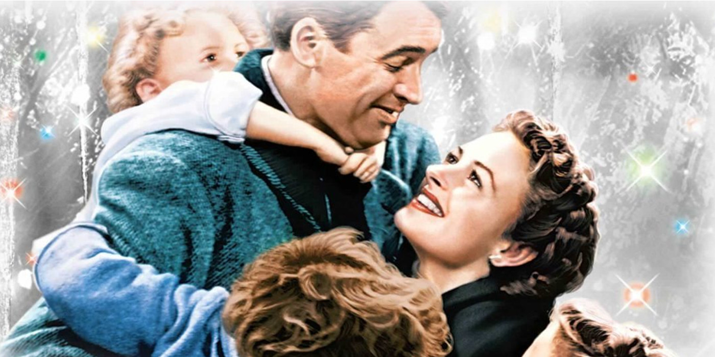 It's a Wonderful Life Colorized Poster