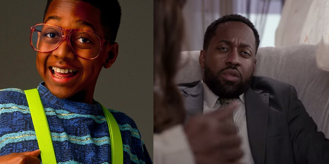 Jaleel White then and now