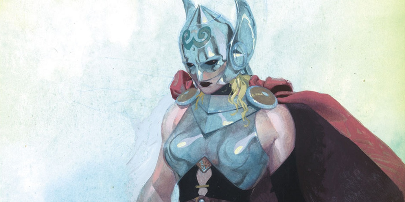 Jane Foster as the female Thor