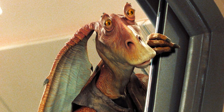 Star Wars: How Jar-Jar Influenced Rogue One's K-2SO