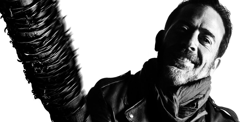 Jeffrey Dean Morgan as Negan in The Walking Dead