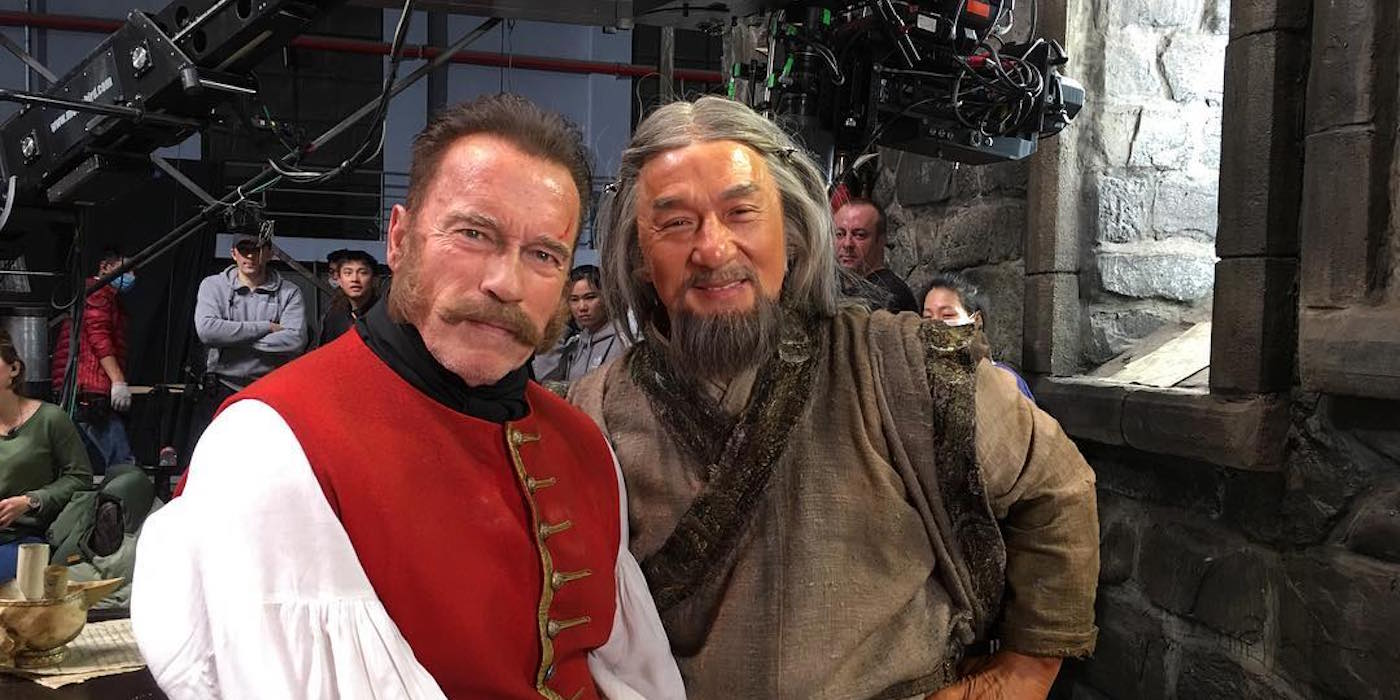 Arnold Schwarzenegger & Jackie Chan Team Up in Journey to ...