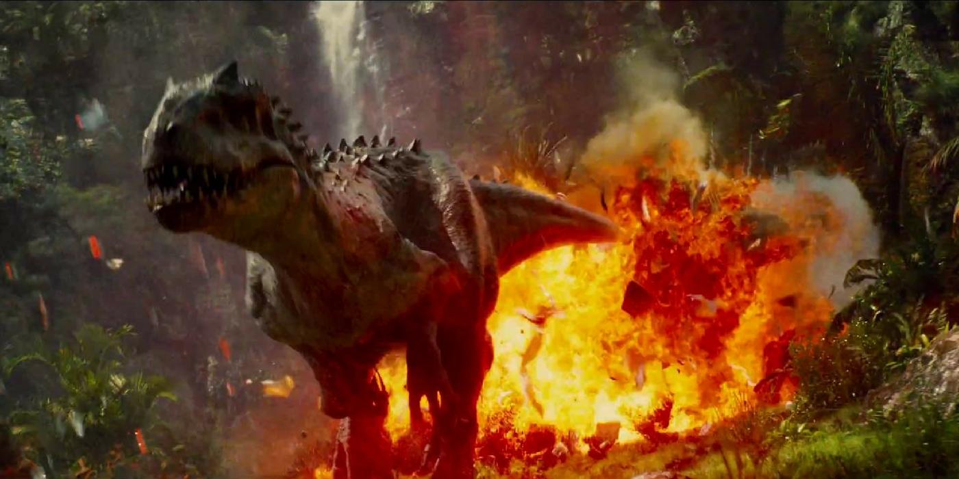 Jurassic World - Indominus Rex Explosion
