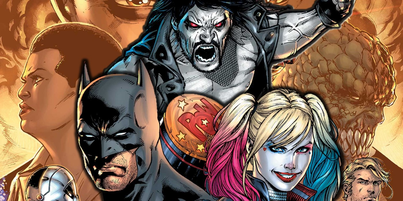 Justice League Suicide Squad Lobo Comic