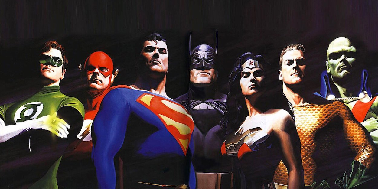 Think, alex ross justice league share