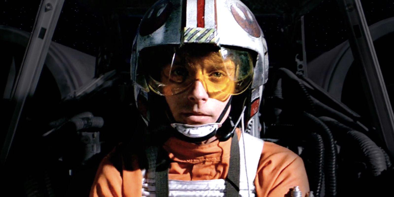 Luke Skywalker in Star Wars A New Hope