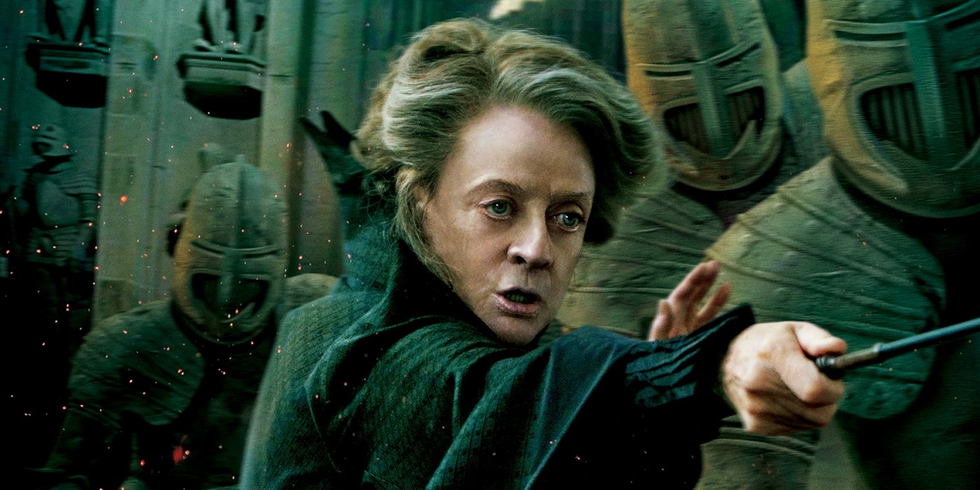 harry potter 15 things you never knew about mcgonagall. Black Bedroom Furniture Sets. Home Design Ideas