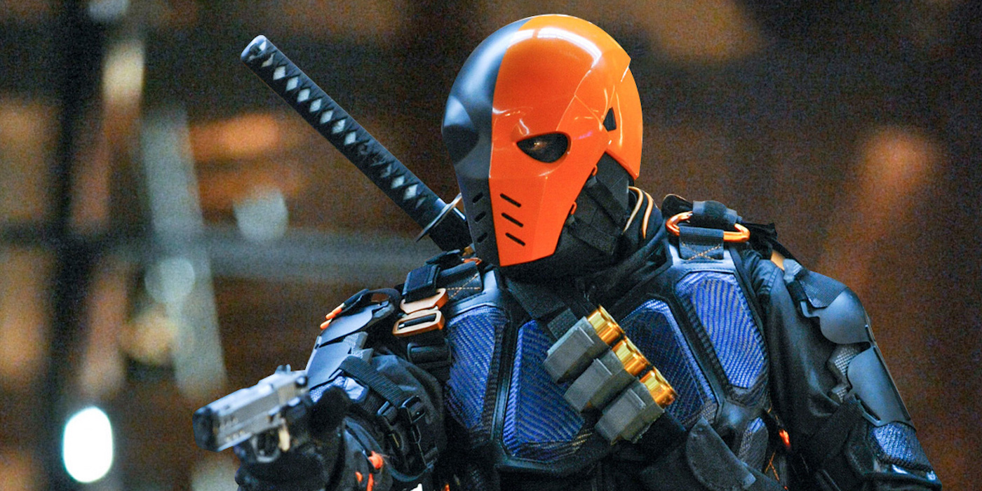 Manu Bennett as Deathstroke aka Slade Wilson on DCTV's Arrow