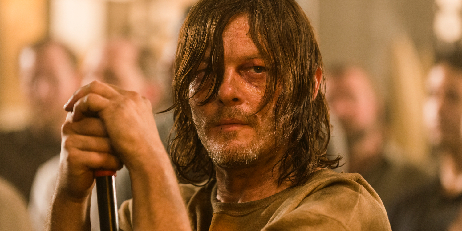Norman Reedus in The Walking Dead season 7 episode 7