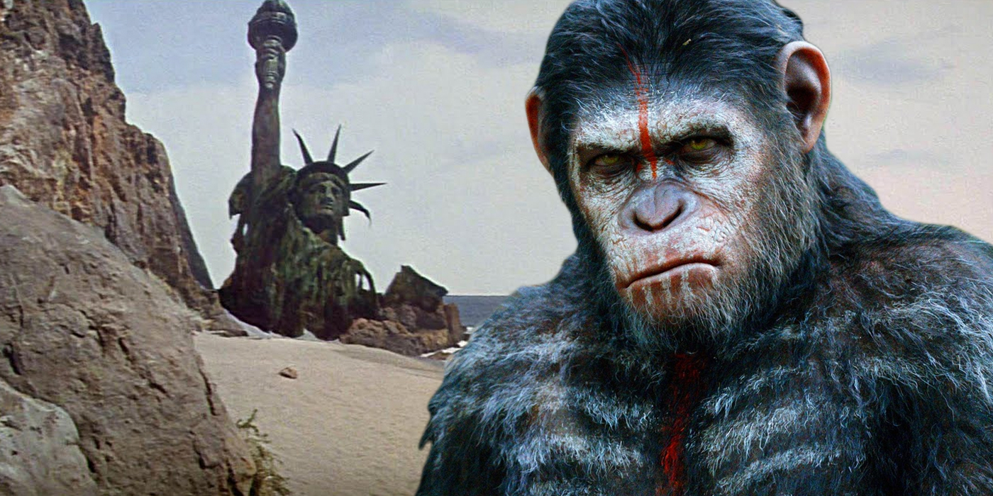 planet of te apes
