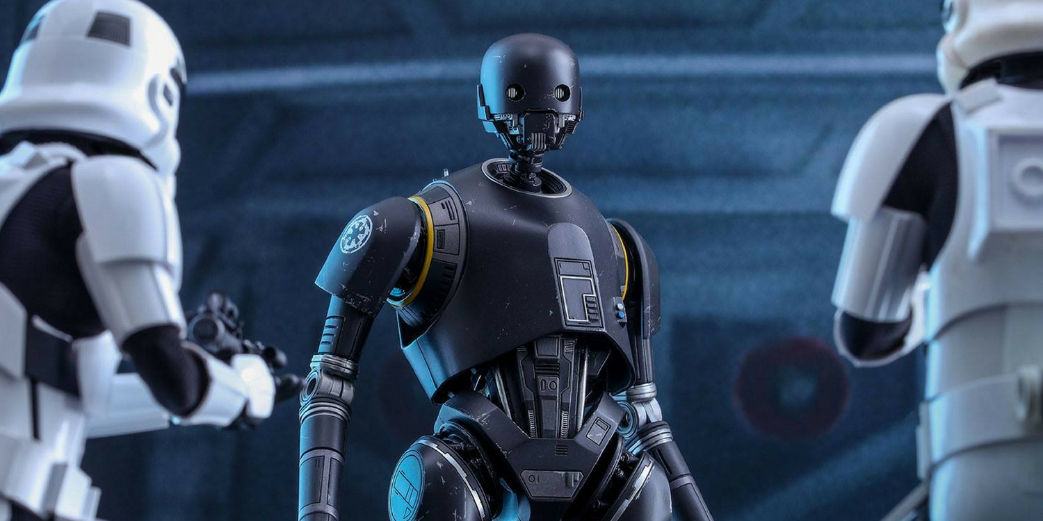 Rogue One A Star War Story - K-2SO Hot Toy - Stromtroopers