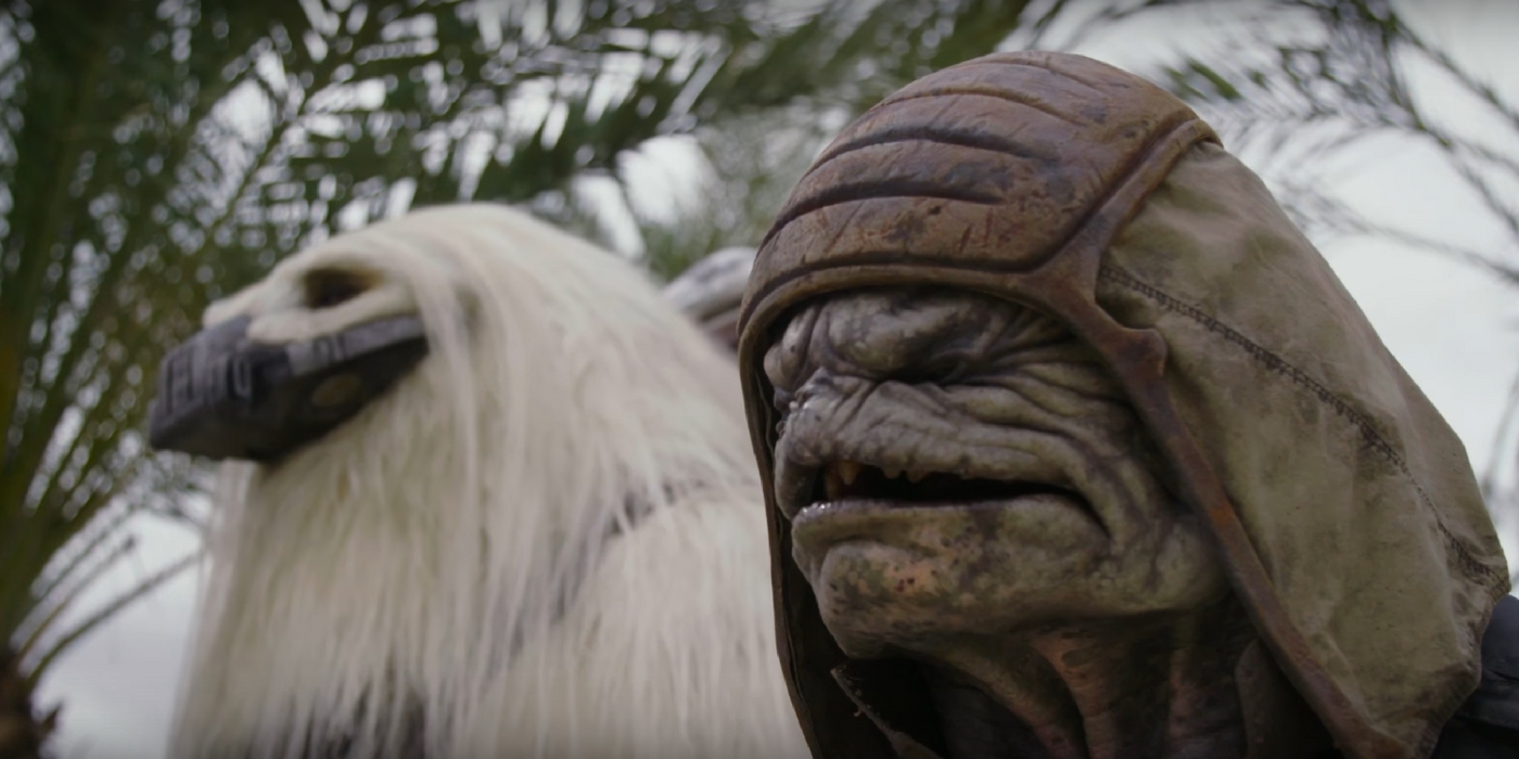 Star Wars: Rogue One Video Introduces the New Aliens & Creatures