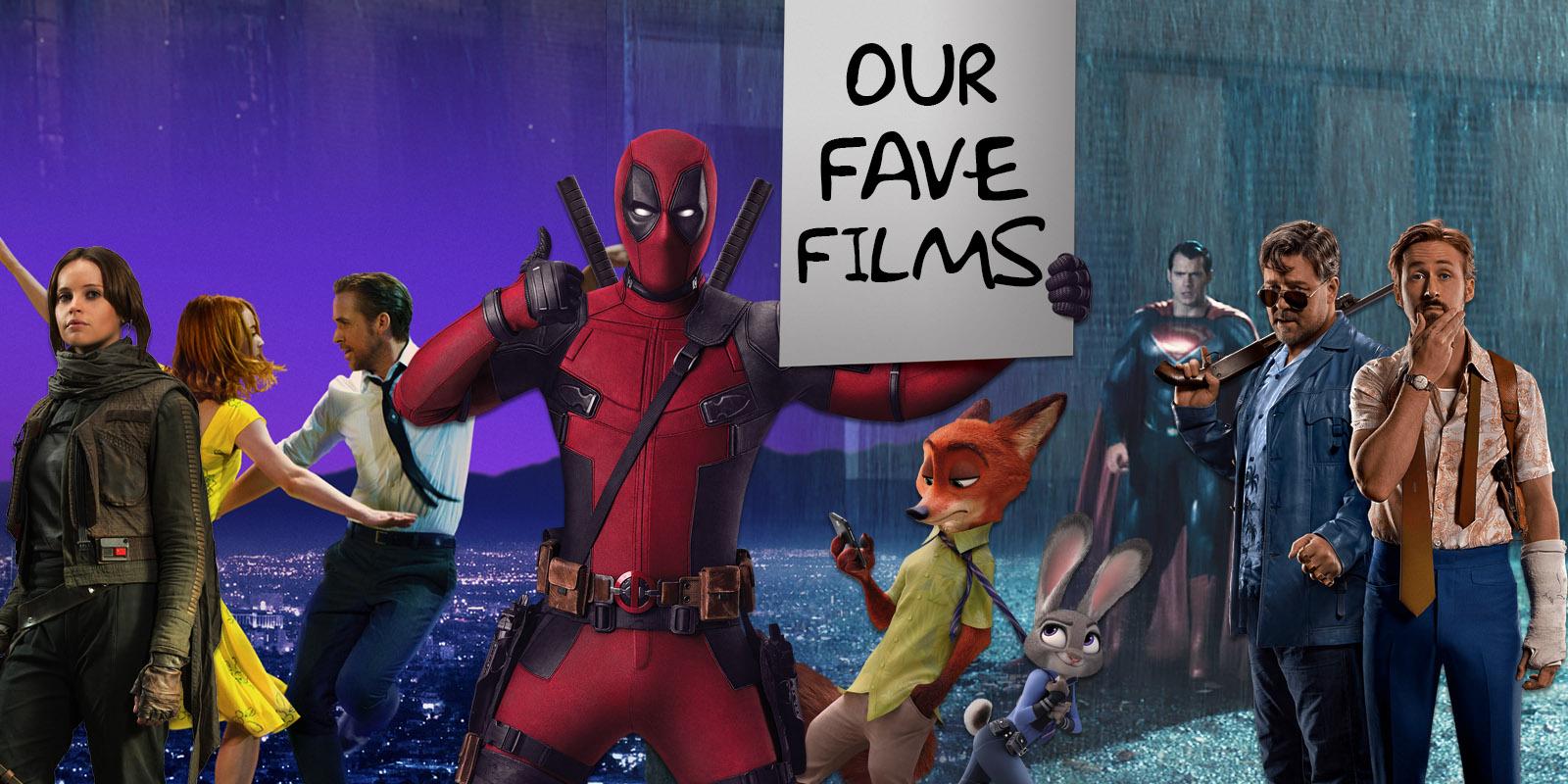 Screen Rant's Favorite 2016 Movies