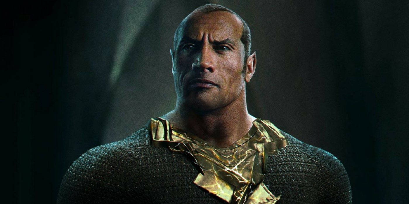 Shazam - Dwayne Johnson as Black Adam Fan Art by George Evangelista