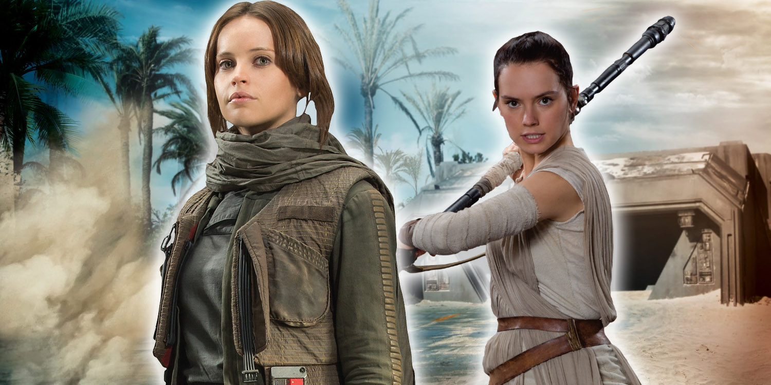 Star Wars - Jyn Erso and Rey