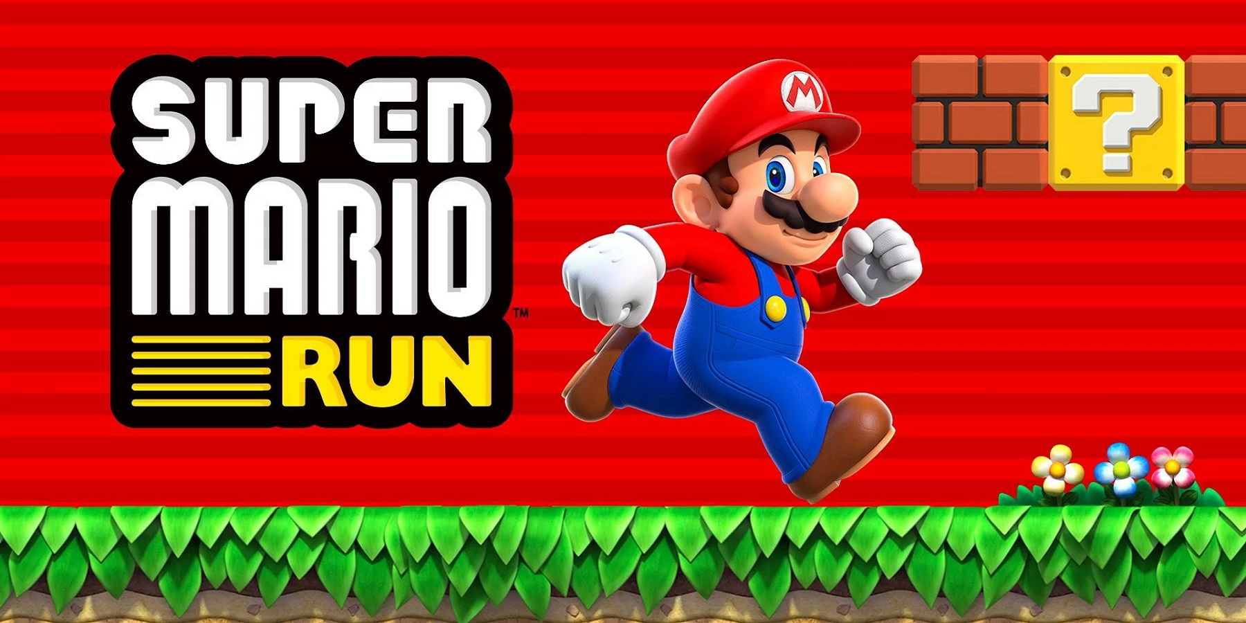 Super Mario Run title screen