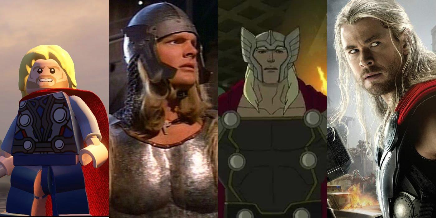 Thor Adaptations LEGO MCU Avengers