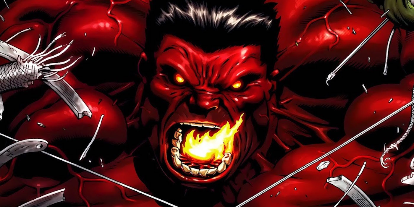 Marvel: 15 Things You Need To Know About Red Hulk