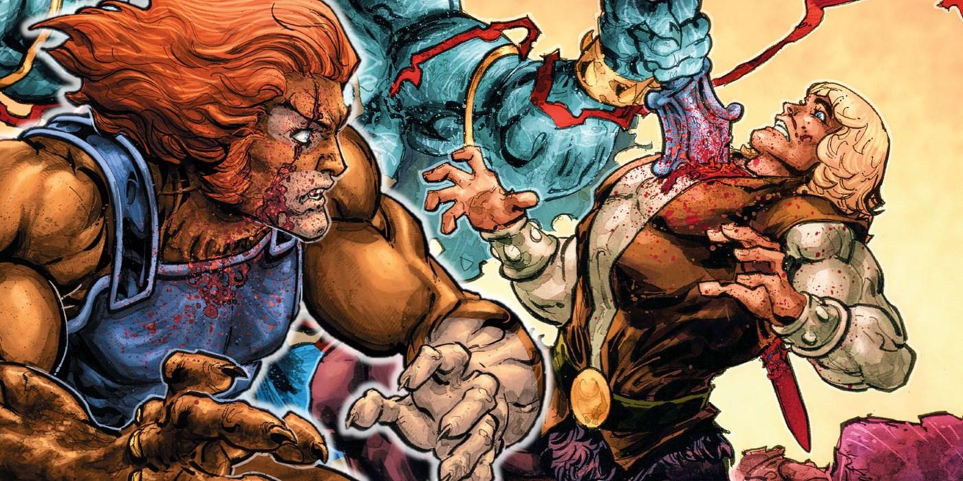 Thundercats Comic He-Man Killed
