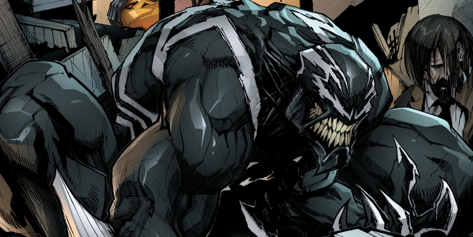 Venom 1 close up Marvel