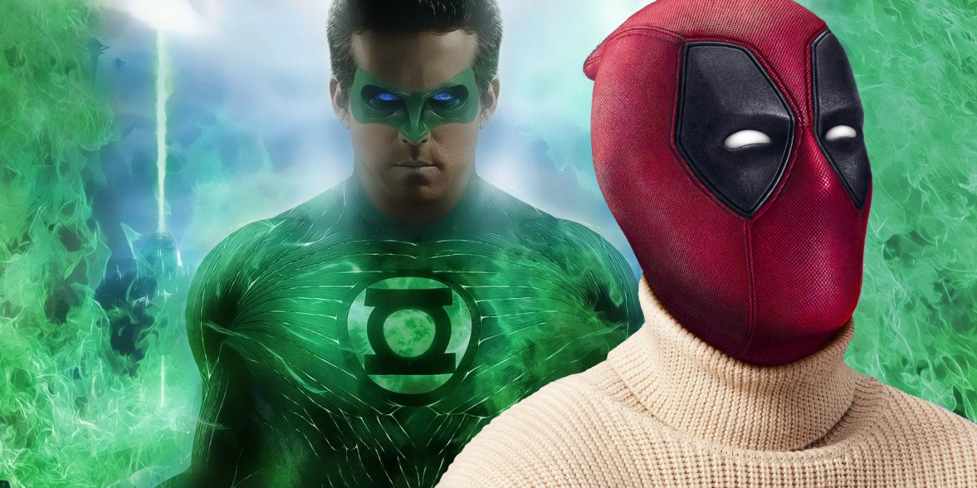 Ryan Reynolds - Green Lantern and Deadpool