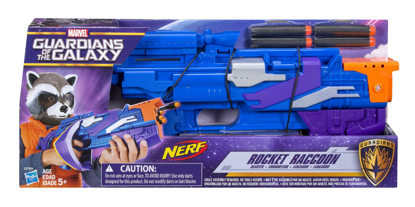 Guardians of the Galaxy 2 - Rocket Blaster toy