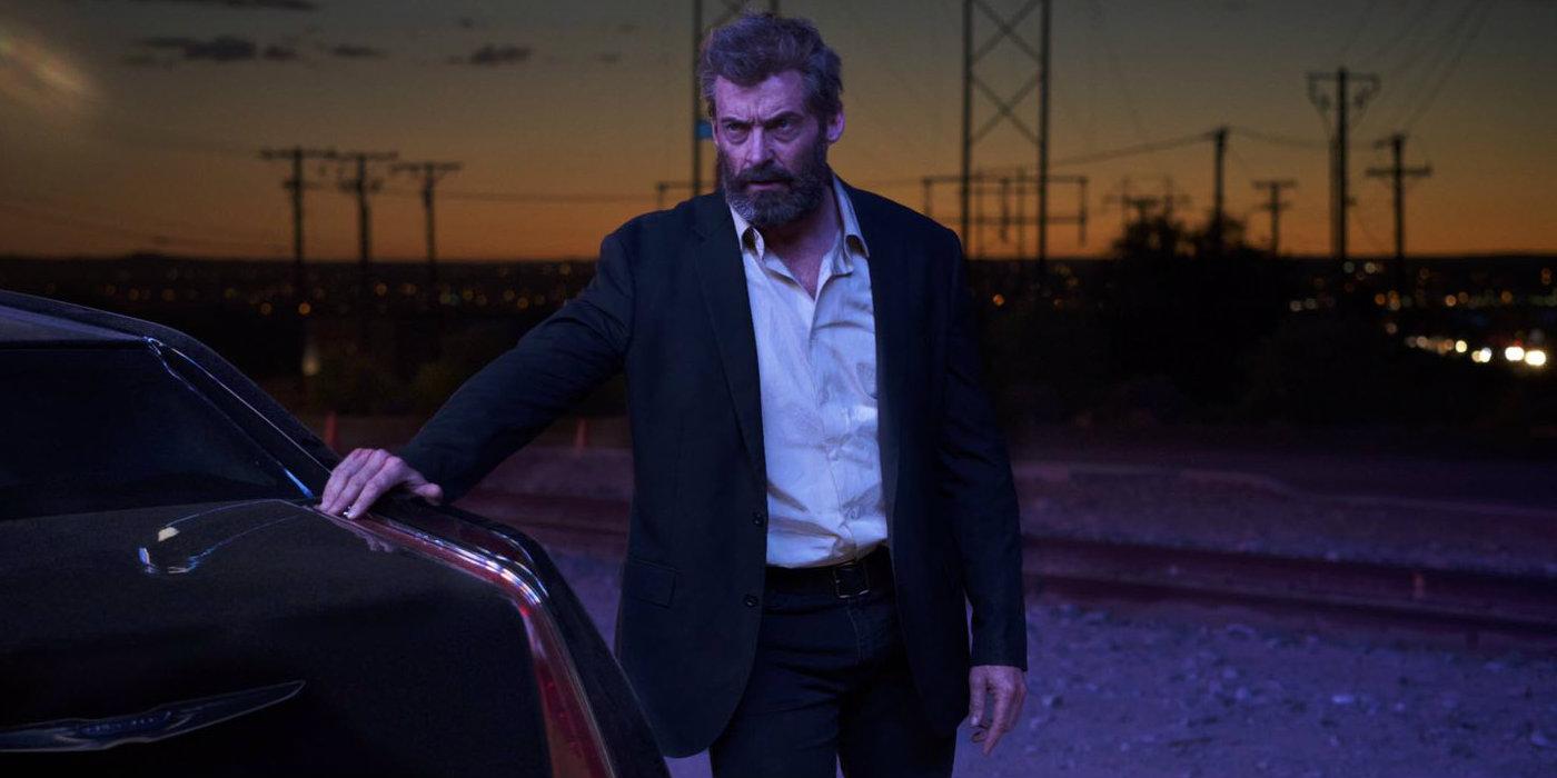 Logan - Wolverine (Hugh Jackman) and car