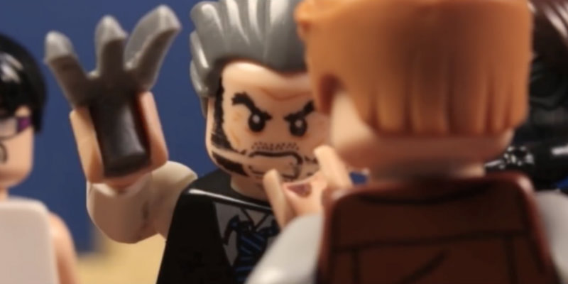 Logan trailer in LEGO form