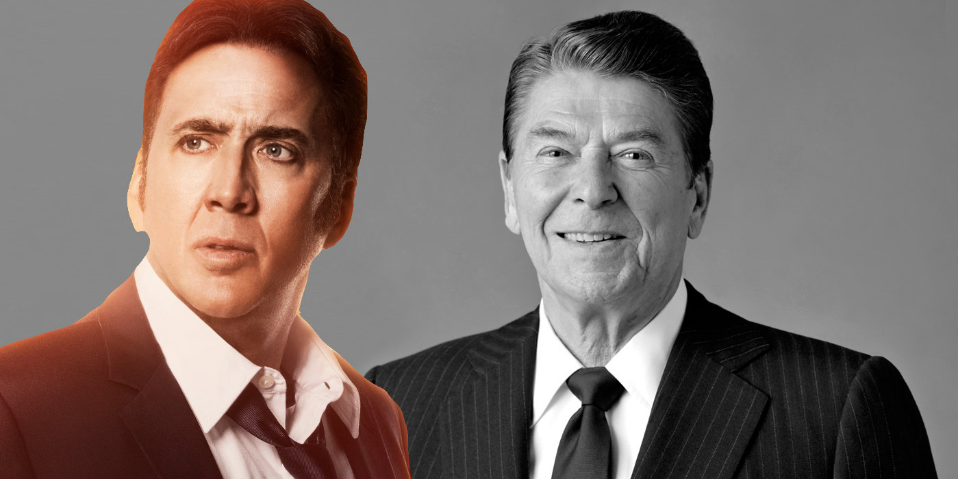 Nicolas Cage may play Ronald Reagan