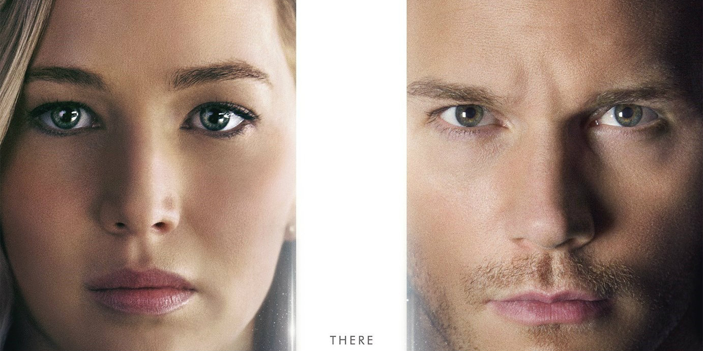 Passengers (2016) Poster - cropped
