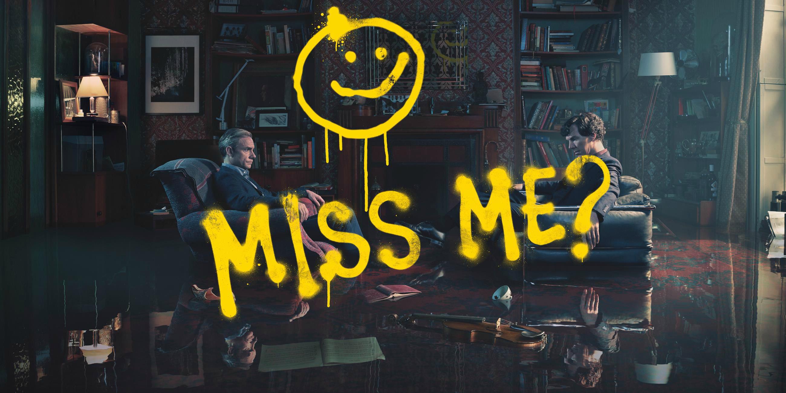 Sherlock Season 4 Promo Teases Moriarty's Return