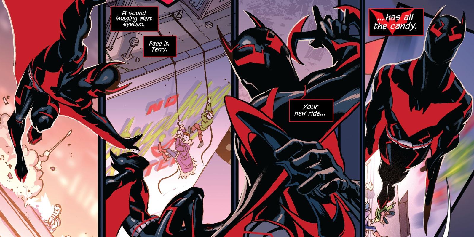 Batman Beyond Just Got a New, Better Batsuit | Screen Rant