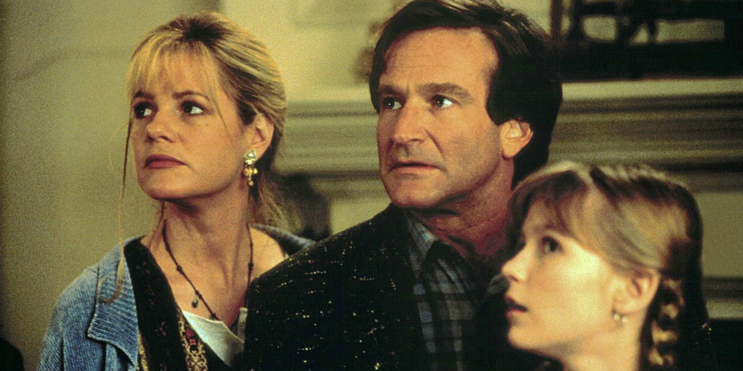 Bonnie Hunt and Robin Williams in Jumanji