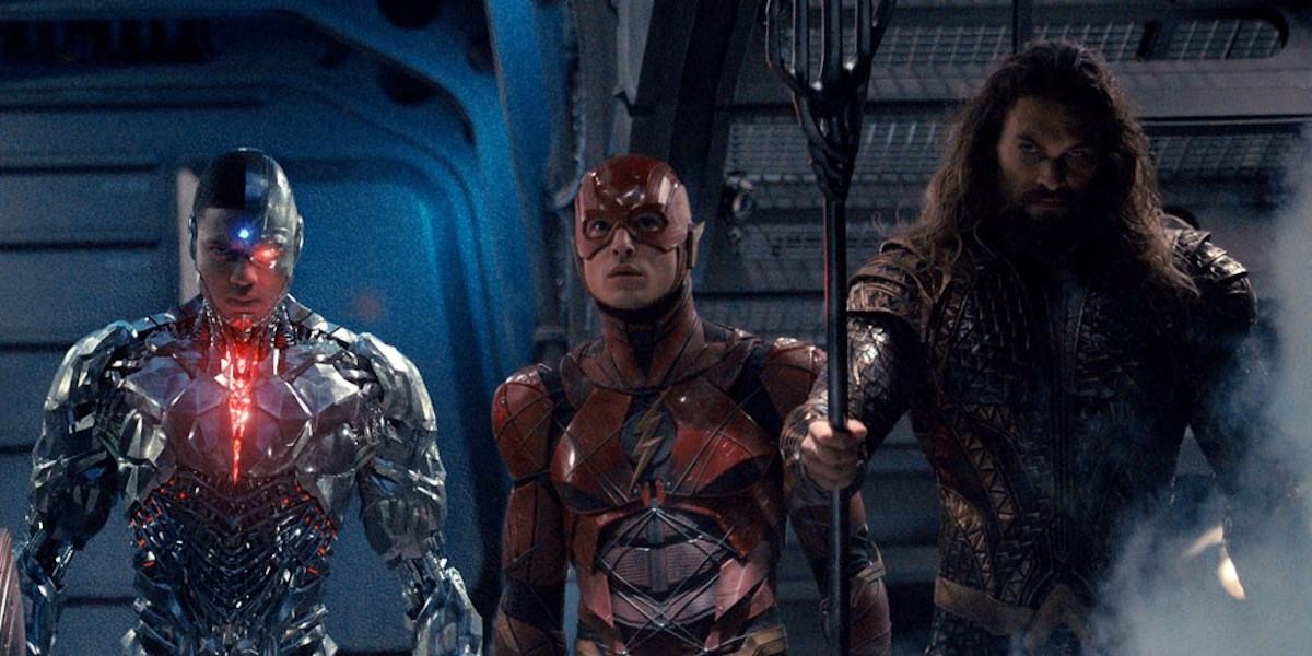 Image result for justice league flash cyborg aquaman
